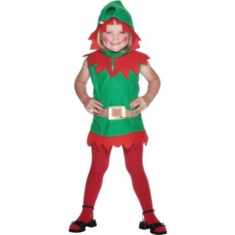 Piros zöld manó jelmez gyerek